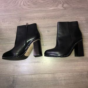 ✨Coach New York ✨Justina Leather Boots